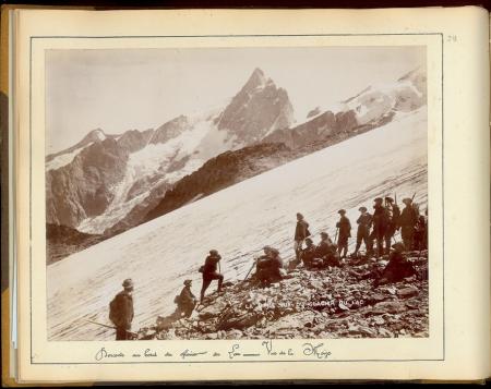 12 Bataillon de Chausseurs Alpins: Traversée des glaciers du Massif du Pelvoux et de l'Oisans