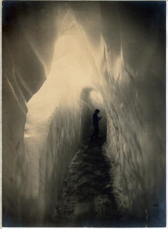 [Chamonix: Grotta di ghiaccio]