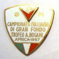 SCM Campionato Italiano di Gran Fondo Trofeo A. Bogani Aprica 1957