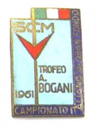 SCM Trofeo A. Bogani 1961 Campionato Italiano di Gran Fondo