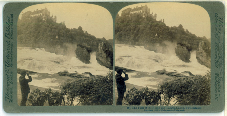 (1) The Falls of the Rhine and Laufen Castle, Switzerland