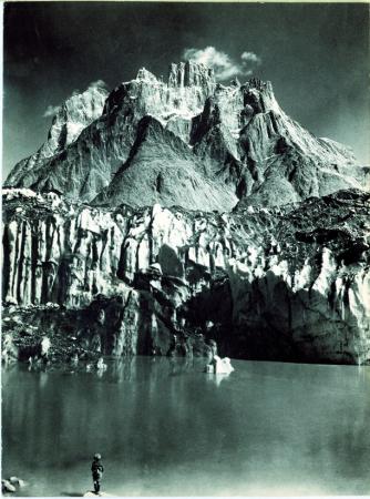 Gruppo del Trango, veduta dal ghiacciaio Baltoro