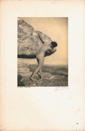 Vingt études de Nu en plein air / G[eorges] L[ouis] Arlaud. [Le roc (Le Baux)]