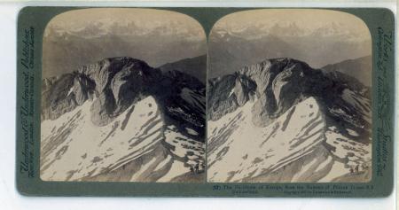 (12) The Backbone of Europe, from the Summit of Pilatus (7.000 ft.), Switzerland