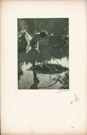 Vingt études de Nu en plein air / G[eorges] L[ouis] Arlaud. [Mirage (Lac Vert de Servoz)]