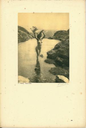 Vingt études de Nu en plein air / G[eorges] L[ouis] Arlaud. [Le lac Blanc (La Flégère)]