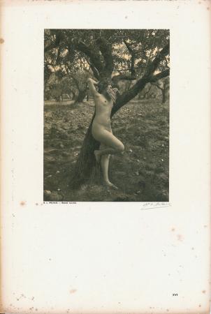 Vingt études de Nu en plein air / G[eorges] L[ouis] Arlaud. [Joueuse de flute (Provence)]