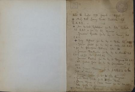 Libro del rifugio Aiguille Noire de Peutérey