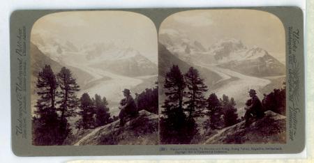(39) Nature's Cathedral, Piz Bernina and Roseg, Roseg Valley, Engadine, Switzerland