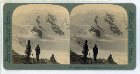 (41) Peaks of Palu - wrapped in eternal snows, Bernina Group, Engadine, Switzerland