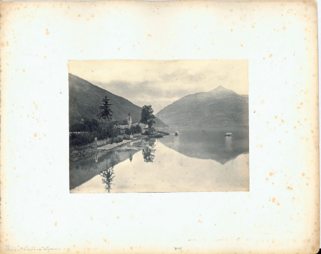 [Lake of Lugano. The Monte S. Giorgio]
