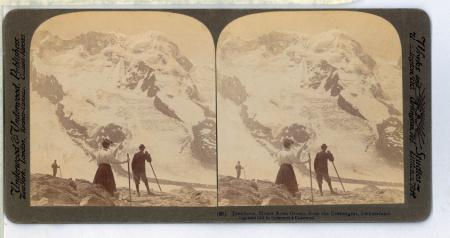 (61) Breithorn, Monte Rosa Group, from the Gornergrat, Switzerland