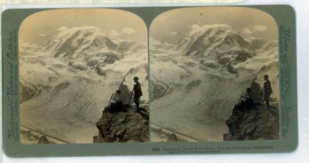 (62) Lyskamm, Monte Rosa Group, from the Gornergrat, Switzerland