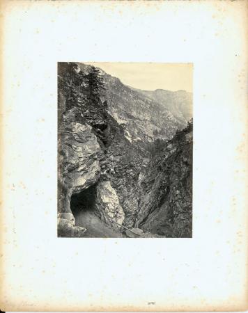 [Simplon Road. Gallery of Gondo]