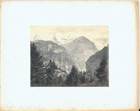 [The Jungfrau from Path to Mürren]