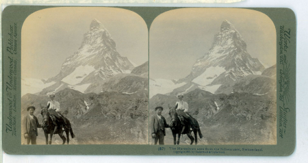 Switzerland through the stereoscope. A journey over and around the Alps conducted by M. S. Emery