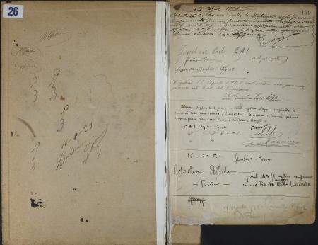 Libro del Rifugio Gastaldi : 14 agosto 1908-19 agosto 1929