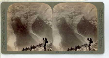 (80) 1815 - Mont Blanc, monarch of European Mountains, from the Brévent, Alps