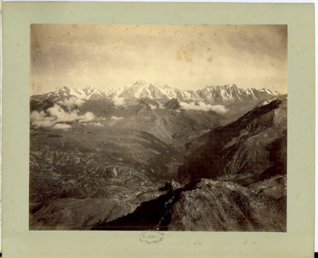 Panorama Monte Bianco dal Grand Assaly