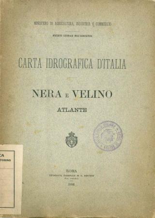 Carta idrografica d'Italia