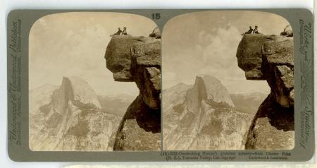 Yosemite Valley through the stereoscope