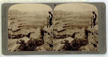 """(5) 6076 - """"The sinuous Colorado, yellow as the Tiber"""" - Grand Cañon, Arizona"""