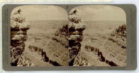 (7) 6078 - Fathoming the depth of a vanished sea - Grand Cañon of Arizona, from Hance's Cove
