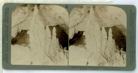 (9) 6080 - Dendritic stalagmites in a limestone cave, Grand Cañon of Arizona