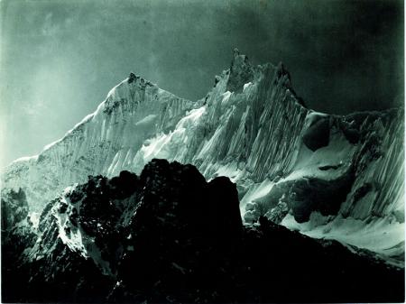 Cresta occidentale del Gasherbrum dal Monte Calcareo