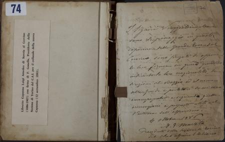 Libro della Capanna Luigi Amedeo di Savoia al Cervino : 4 ottobre 1886-3 agosto 1907