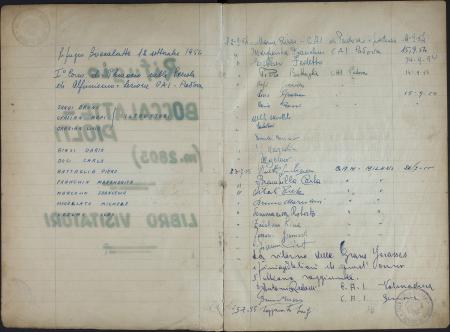Libro del Rifugio Gabriele Boccalatte-Mario Piolti alle Grandes Jorasses : 12 settembre 1954-30 ottobre 1963
