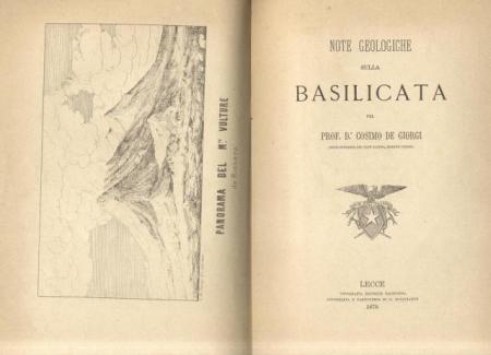 Note geologiche sulla Basilicata