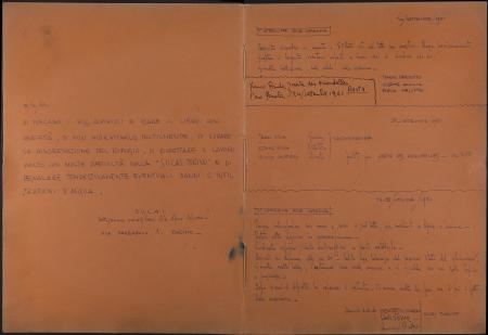 Nuova Capanna Giusto Gervasutti : libro dei visitatori : 15 settembre 1961-11 agosto 1973