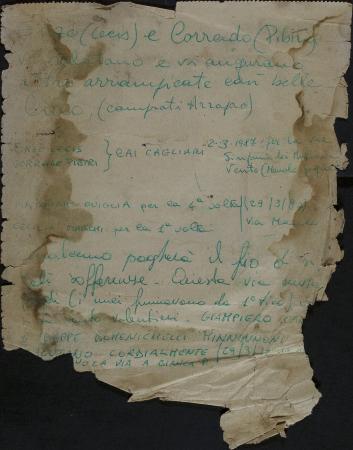 Libro di vetta Aguglia di Goloritzè : marzo 1987-2 gennaio 1995
