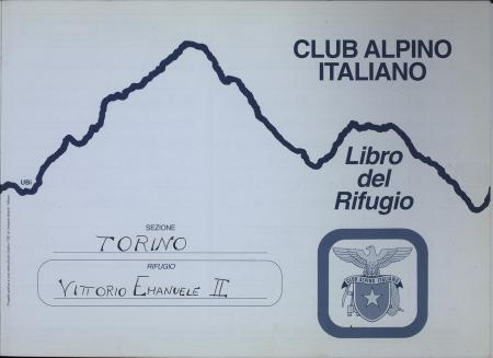 Libro del Rifugio Vittorio Emanuele 2. : 20 luglio 1996-2 aprile 1997