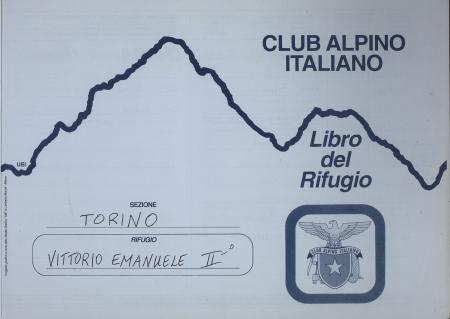 Libro del Rifugio Vittorio Emanuele 2. : 10 maggio-15 agosto 2001