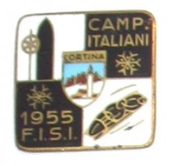 Camp. Italiani 1955 F.I.S.I Cortina