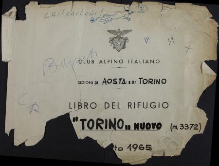 Libro del Rifugio Torino nuovo : 26 giugno 1966-9 settembre 1978