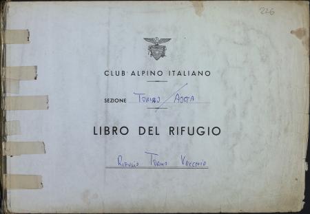 Libro del Rifugio Torino vecchio : 27 maggio 1989-21 febbraio 1998