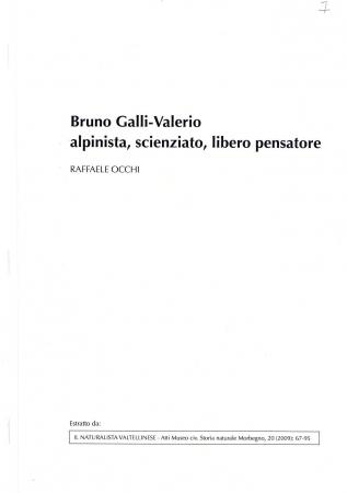 Bruno Galli-Valerio