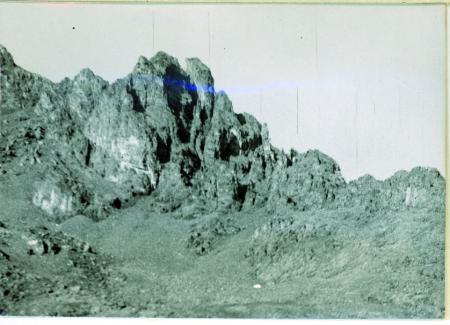 [Veduta della Torre Kucukdeniz (3350 m) da sud ovest]