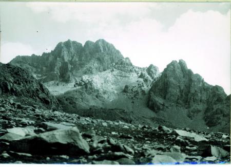 [Vedute della cima Sud Ovest del Kackar (3703 m) e del Torre Kucukdeniz (3350 m) da ovest sud ovest]