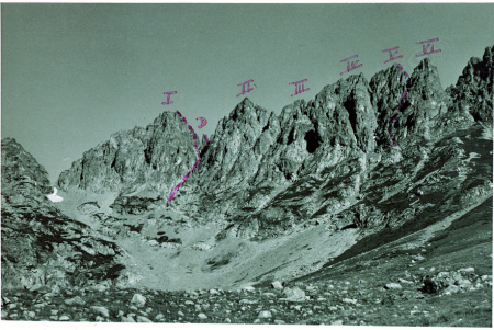 L'Altiparmak con le sei dita e con il Demir Halba visto da sud est