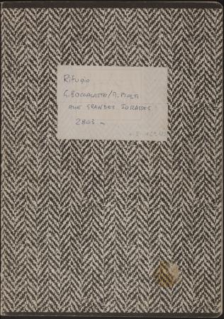 Libro del Rifugio Boccalatte : 24 agosto 2000-12 agosto 2001