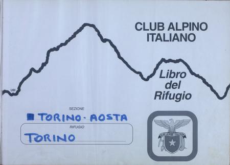 Libro del Rifugio Torino : 1 agosto 2004-2 maggio 2008