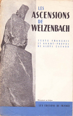 Les ascensions de Willo Welzenbach