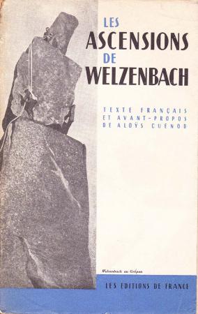 Les ascensions de Willo Welzenbach