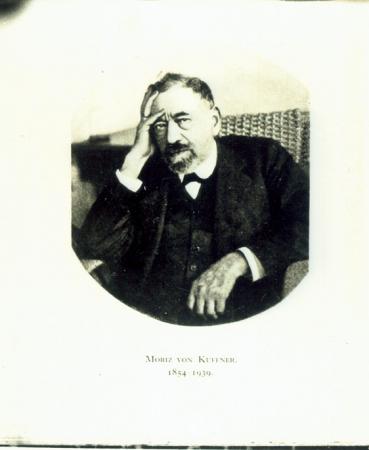 [Riproduzione fotografica di un ritratto di] Moriz von Kuffner