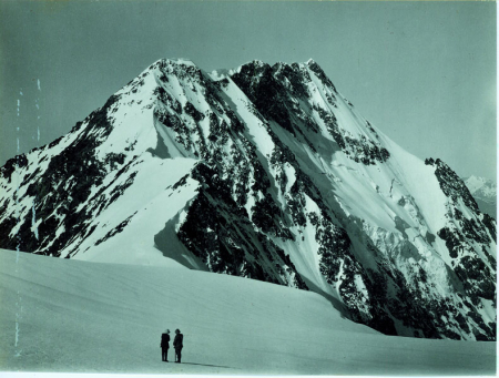Tepli dalla cresta nord-est a quota 3900 m