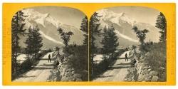 Le Dome et l'Aiguille du Goùte, Chamounix, Savoie